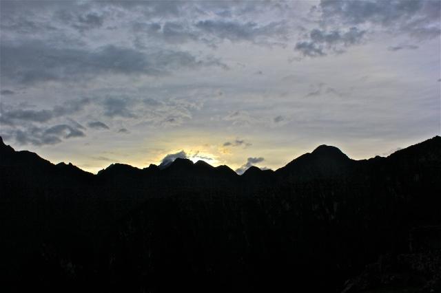 Sunrise over Machu Picchu