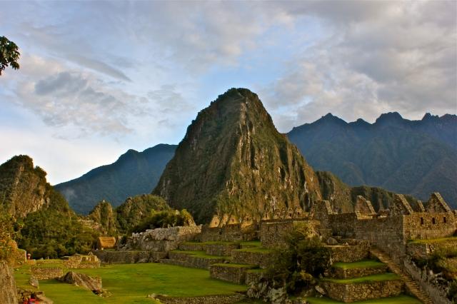 Huayna Picchu and the Sacred Plaza